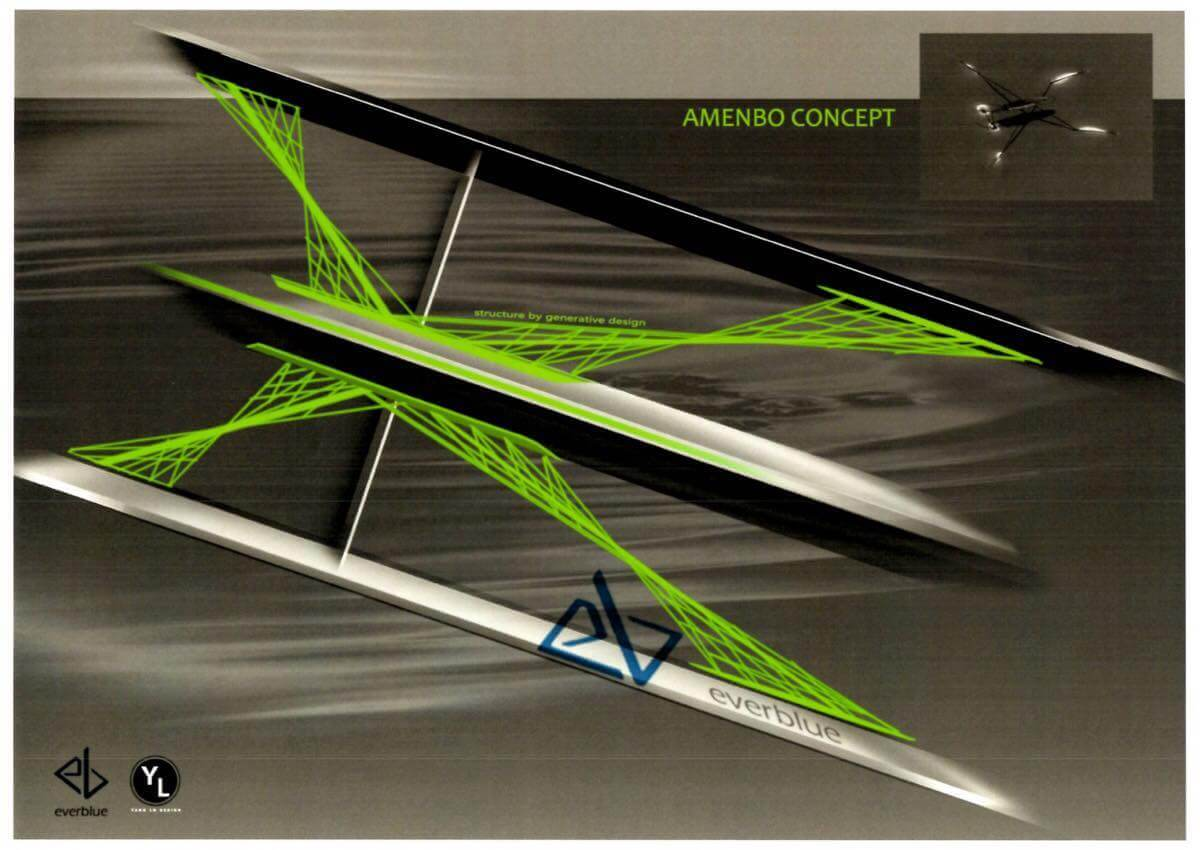 A.D.A.M.(Ai Design Autonomous Multihull)